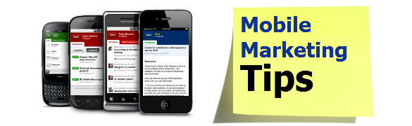 mobile marketing tips