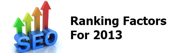 ranking factors2013