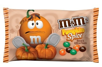 Pumpkin m&m