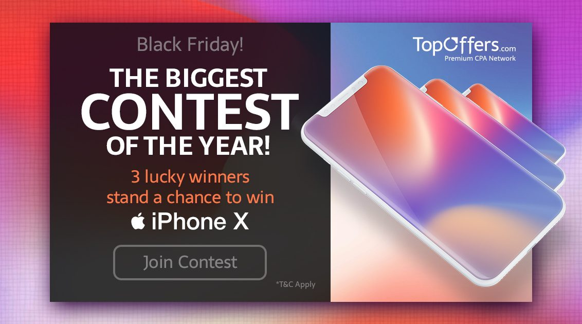 TopOffers Winter Contest – Win an iPhone X! – Scoop