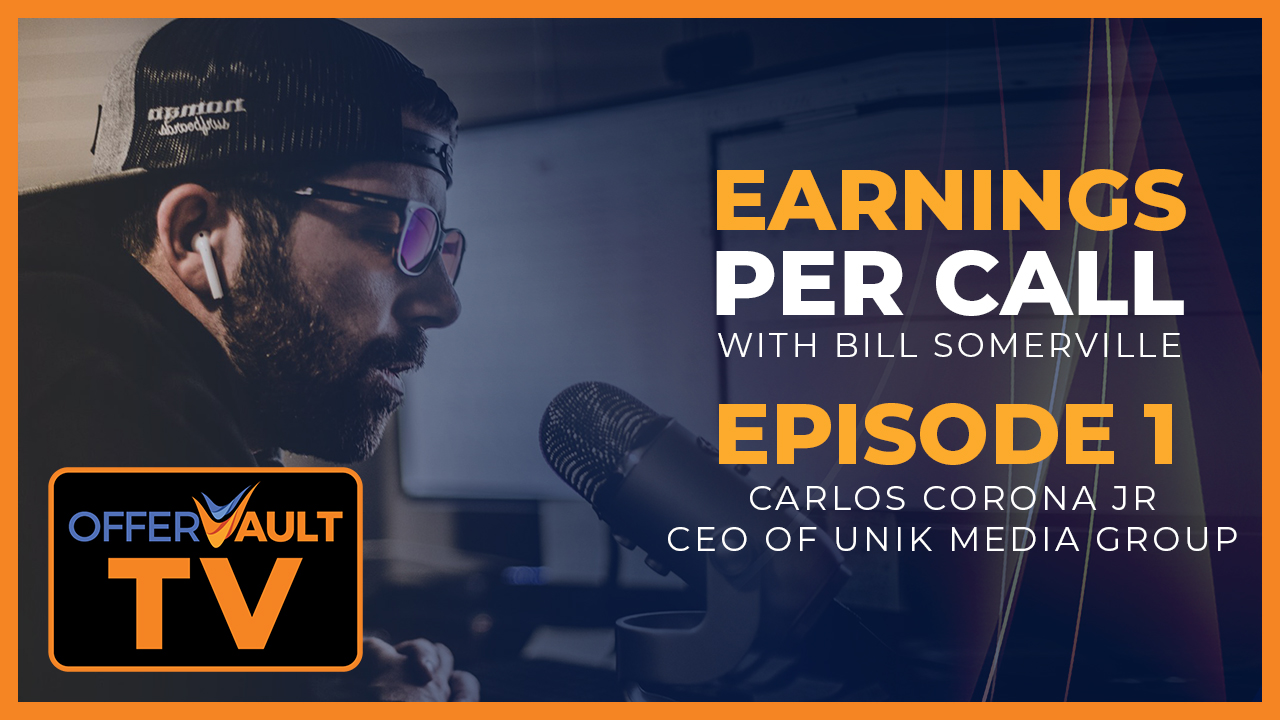Earnings Per Call: Carlos Corona Jr. CEO of Unik Media Group