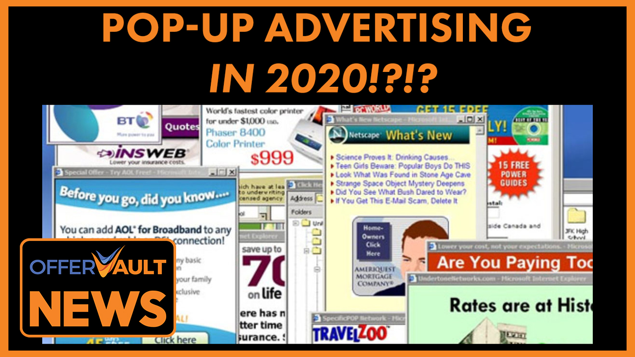 How Pop up Ads Will Keep Crushing It in 2020