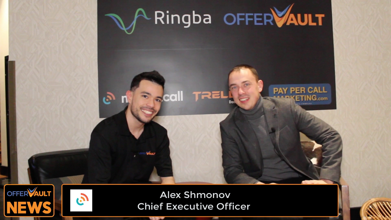 Interview with Alex Shmonov, CEO of Marketcall at Affiliate Summit West 2020