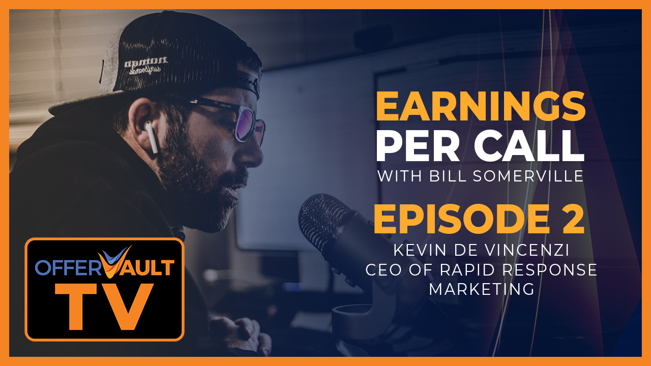Earnings Per Call: Kevin De Vincenzi CEO of Rapid Response Marketing