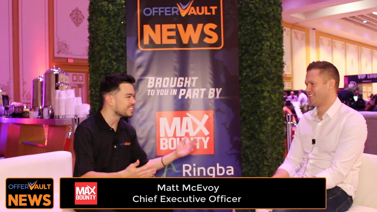 Interview with Matt McEvoy, CEO of MaxBounty at Affiliate Summit West 2020