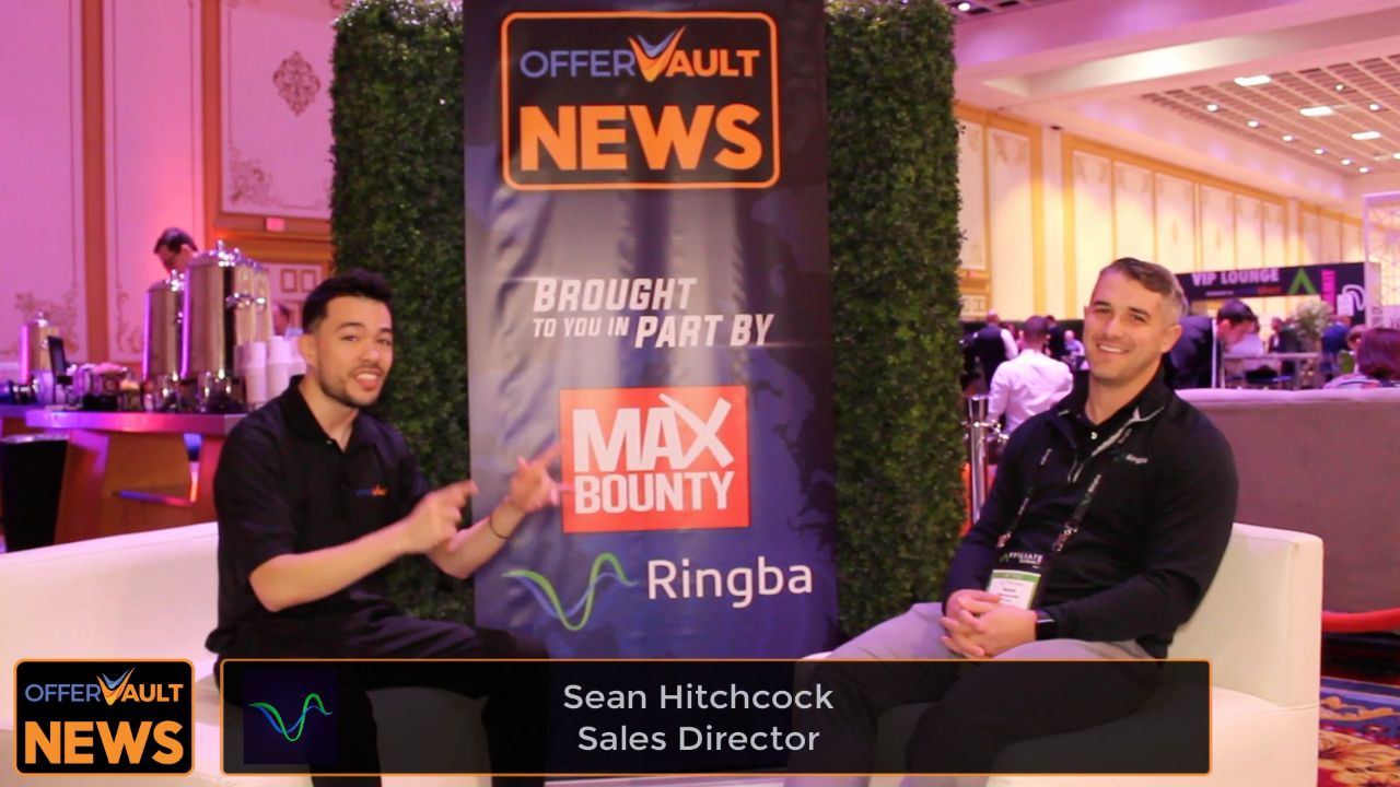 Interview with Sean Hitchcock, Sales Director of Ringba at Affiliate Summit West 2020