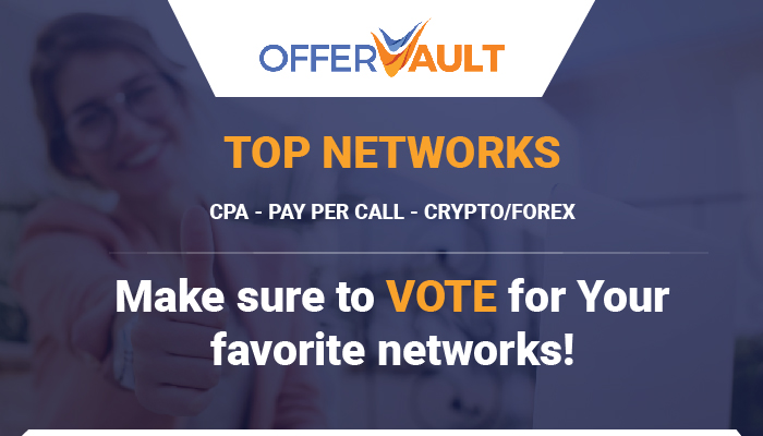 OfferVault - Top Networks Survey! VOTE NOW