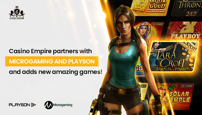Online Casino Expands its Empire by Partnering with MicroGaming and Playson