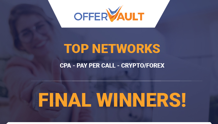 OfferVault Top Networks - Final Winners!